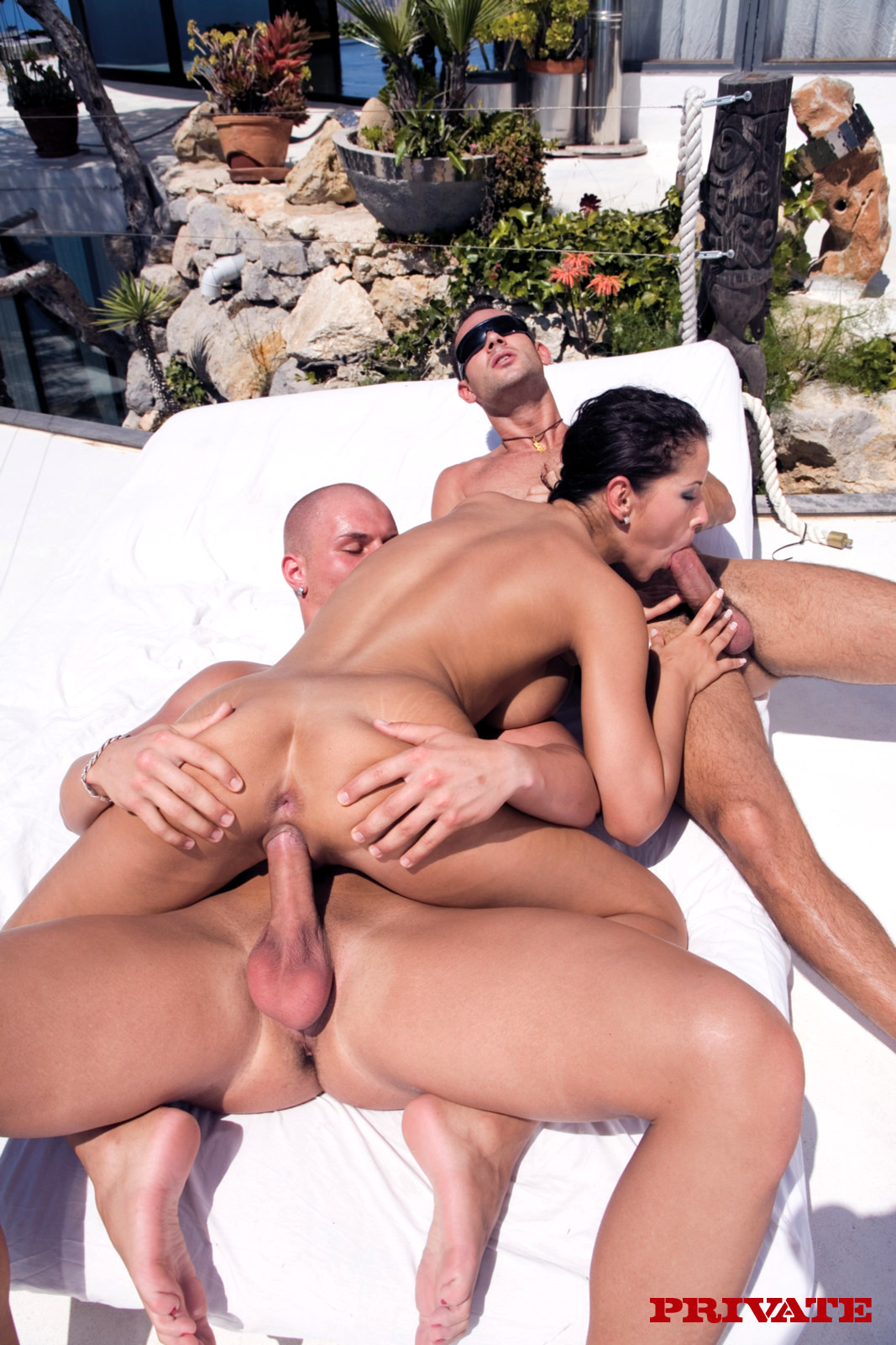 Group angel sex dark